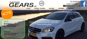 Website Rijschool Gears